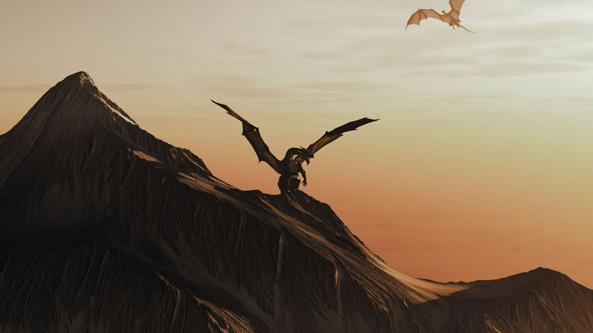 Dragonic Game Gameplay Screenshot Dragons Mountains