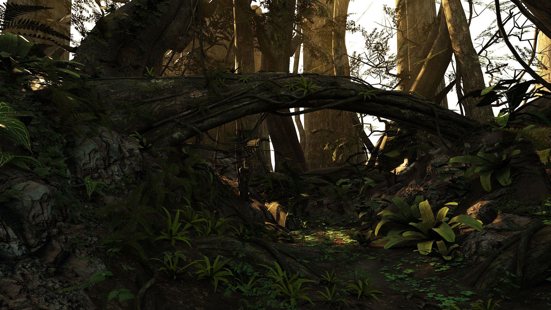 Dragonic Game Gameplay Screenshot Dark Sunset Forest